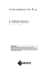 Instructions for Use LMM56800