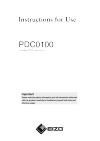 Instructions for Use PDC0100