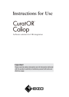 Instructions for Use Caliop